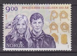 Norway 2007 Mi. 1619     9.00 Kr Scouts Pfadfinder, MNG - Norwegen