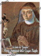 Maria Francesca Delle Cinque Piaghe - Napoli  - Santino - Holy Card - Images Religieuses