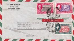 COVER VIA AIR MAIL. IRAN TEHERAN -HEILBRONN -   GERMANY  /  2285 - Iran