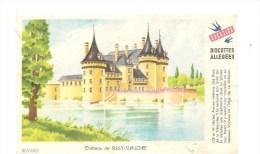 Buvard Gringoire Biscottes Allégées Château De SULLY-SUR-LOIRE - Biscottes