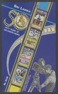Sri Lanka (1999) Yv. Bf. 71   /   Movie Stars - Cinema - Film - Cinema
