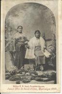 JEUNES FILLES DE SAINT-PIERRE, MARTINIQUE 1902, DOS SIMPLE. - Mauritania