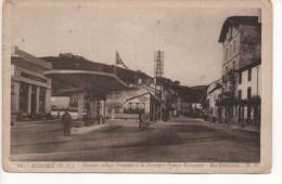 **BEHOBIE - Dernier Village Francais à La Frontière Franc-Espagnole - Rue Principale  - ( Pompe à Essence ) - Béhobie