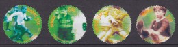 Norway 2002 Mi. 1426-29     5.50 Kr Fussballverband Complete Set , MNG - Norwegen