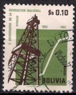 B641 - Bolivia 1963 - The 10th Anniversary Of The Revolution, 1962 - Bolivia