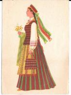 Costume Folklorique Samogitian Women - Europe