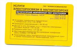 Russia Magnitogorsk Service - Russia