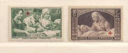 FRANCE  ( FR - 649 )   1940  N° YVERT ET TELLIER  N°  459/460       N* - Neufs