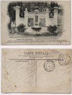 LAMALOU LES BAINS - Fontaine Du Monument Charcot Cachet Militaire + Cahet Trésor Et Postes 157   (84940) - Lamalou Les Bains