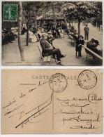 LAMALOU LES BAINS - L' Heure Du Verre D' Eau - Cachet Perlé De LAURAGUEL (Aude) Indice 4   (84941) - Lamalou Les Bains