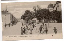REMIREMONT (88) - LA SYNAGOGUE ET LA GRANDE RUE - SYNAGOGE - JUDAISME / JUDAICA / JEWISH - Giudaismo