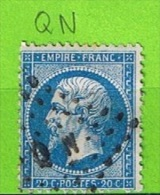 AMBULANT QN - QUIMPER A NANTES - 1849-1876: Période Classique