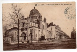 DIJON (21) - LA SYNAGOGUE OUVERTE AU CULTE LE 11 SEPTEMBRE 1879 - JUDAISME / JUDAICA / JEWISH - Judaisme