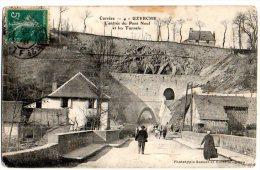 Cpa   Uzerche . L'Entée Du Pont Neuf Et Les Tunnels. - Uzerche