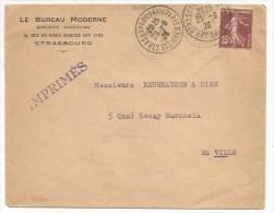 B960 - Daguin Jumelé STRASBOURG QUAI DE PARIS - Bas Rhin - 1926 - - Alsace Lorraine