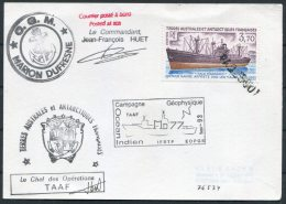 1993 TAAF Marion Dufresne Maritime Antarctic Paquebot Ship Card - French Southern And Antarctic Territories (TAAF)