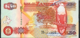 ZAMBIA   P37d   50 KWACHA 2003 #BB/03    UNC. - Zambia