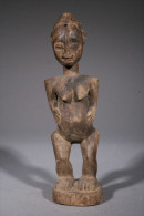 Statuette D'autel Baoulé - Art Africain