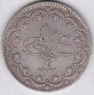 TURQUIE. 20 Kurush AH 1293 / 1 (1876). Abdul Hamid II. Silver Coin .KM# 722 - Turquie