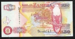 ZAMBIE ZAMBIA  P37g  50 KWACHA 2007   UNC. - Zambie