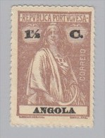 ANGOLA - Scott #122 Ceres (Name & Value In Black) / Mint NG Stamp - Angola