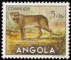 ANGOLA - Scott #362 Leopard (*) / Mint H Stamp - Angola