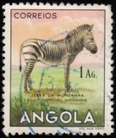 ANGOLA - Scott #368 Mountain Zebra (*) / Used Stamp - Angola