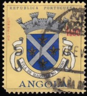 ANGOLA - Scott #463 Arms Of Dondo / Used Stamp - Angola