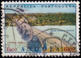 ANGOLA - Scott #C32 Quanza Riber Bridge / Used Stamp - Angola