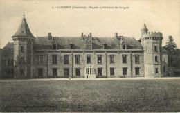 Dép 29 - Chateaux - Combrit Sainte Marine - Façade Du Château Du Cosquer - Bon état Général - Combrit Ste-Marine