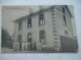 Sainte-Menehould - Quartier Valmy - La Cantine Du 1er Demi-régiment - Personnages