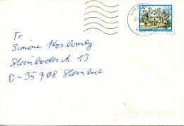 AUTRICHE. N°1723 De 1987 Sur Enveloppe Ayant Circulé. Monastère De Loretto. - Abbazie E Monasteri