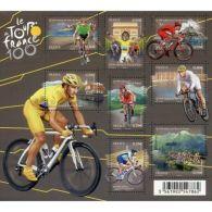 France Feuillet N°4755 Cyclisme. 100ème édition Du Tour De France - Sheetlets