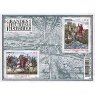 France Feuillet N°4704 Les Grandes Heures De L'histoire De France - Sheetlets
