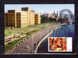"""Carte Maximum Et PAP Neuf D'Australie De 2003 """" PAYSAGE AUSTRALIEN """". Voir Le Scan. Parfait état. CM - Maximumkarten (MC)"""