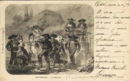 Auvergne - La Bourrée -  Ed. P.Juliot - Clermond Ferrand - Danses