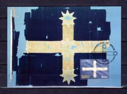 """AUSTRALIE 2004 : Carte Maximum Et PAP Neuf """" THE EUREKA FLAG """". Parfait état. CM - Flags"""