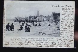WAES L ESCAUT GELE EN 1890  CARTE TOP    LAND VAN WAUES TEMSCHE TAMISE - Belgique
