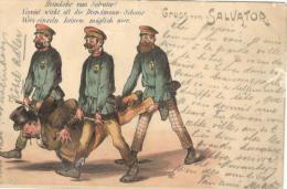 BAYERN - MUENCHEN - Gruss Vom SALVATOR - Humor (1897) - Muenchen