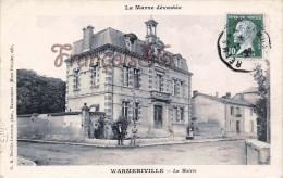 (51) Warmeriville - La Mairie - 2 SCANS - Autres Communes
