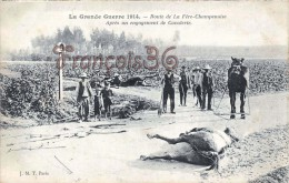 (51) Route De La Fère Champenoise Aprés Un Engagmement De Cavalerire - Guerre 1914-18 WW1 - 2 SCANS - Fère-Champenoise