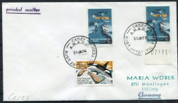 1976 Australia AAT Antarctica Casey Base Cover - Australian Antarctic Territory (AAT)