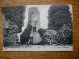 """Monfort - L´amaury , Ruines De L'ancien Donjon , Xe Siècle , Tour D'anne De Bretagne """""""" Carte Animée """""""" - Montfort L'Amaury"""