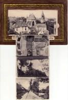 CPSM À SYSTÈME - SOLOGNE - CHÂTILLON-COLIGNY (45) : 10 VUES - Chatillon Coligny