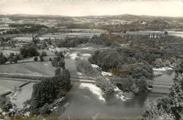 CPSM Escos-Vue Panoramique Sur Le Pont De Chemin De Fer     L2032 - France