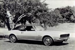 Photo De Presse  (24 X 16 Cm) - Automobile CHEVROLET CAMARO RALLY SPORT 1968 - Coches