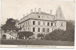 AMBULANCE AU CHATEAU  DE MAXEVILLE   (GUERRE 1914-1915) - Maxeville