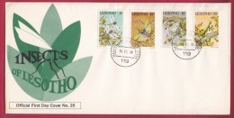 LESOTHO, 1978, Mint FDC Nr. 20, Insects, 262-265 , F958 - Lesotho (1966-...)