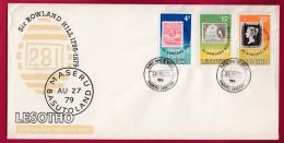 LESOTHO, 1979, Mint FDC Nr. 23, Sir Rowland Hill, 274-276 , F962 - Lesotho (1966-...)