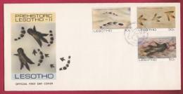 LESOTHO, 1984, Mint FDC , Pre-historic Lesotho, 475-477 , F964 - Lesotho (1966-...)